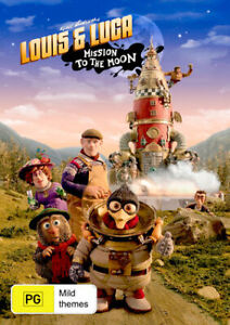 Louis & Luca: Mission to the Moon  - DVD - NEW Region 4