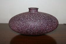 Vtg Mid Century Modern /Hollywood Regency Glass Spanish Pottery / Vase