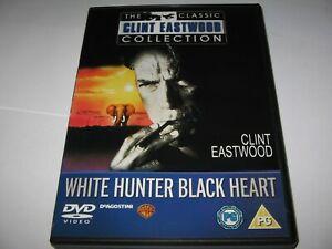 WHITE HUNTER BLACK HEART (1990) CLINT EASTWOOD  JEFF FAHEY      RARE R2 DVD
