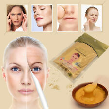 24 K Gold Powder Gel type Active Clay Powder Collagen Face Mask Facial Skin Care