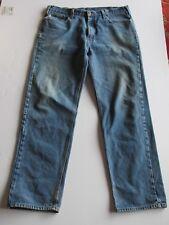 Carhartt  Blue Denim Medium Wash Relaxed Fit Jeans Men's 40 x 36 V39a