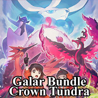 Crown Tundra 300+ 🚀 Square Shiny + Isle of Armor Pokedex