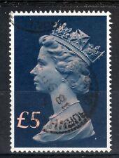 GB = POSTMARK - QE2 era, `BURNHAM ROAD GLASGOW` 1991 Single Ring. £5 Tall Machin