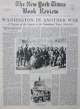 CHURCHILL 8-1941 August 31 WASHINGTON IN ANOTHER WAR - QUEEN VICTORIA NY Times