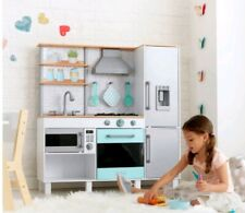 KidKraft Gourmet Chef Play Kitchen With EZ Kraft Assembly (3+ Years) role play