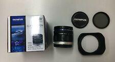 # Boxed Olympus M.ZUIKO Digital ED 9-18mm F4.0-5.6 Lens Plus Hood & CPL Filter
