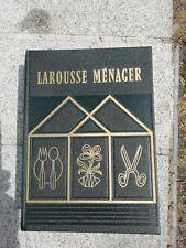 Nouveau Larousse Ménager 1955 Dictionnaire / Encyclopédie Larousse Vie Pratique