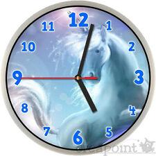 #217 Wanduhr für Kinder -> Einhorn <- auch mit lautlosem Uhrwerk erhältlich!