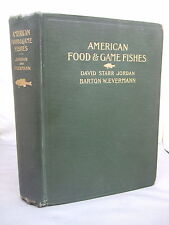 1902 American Food and Game Fishes - Identification, Methods of Capture Illust