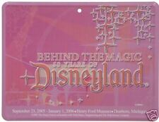 Disneyland 50 Years Tin Sign 50th Anniversary Henry Ford Museum Stars Metal New