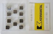 KENNAMETAL SPG 322 Carbide Cutting Inserts K21 Grade