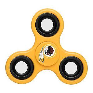 Washington Redskins Diztracto Spinner Logo 3-way Toy Stress Fidget Hand Finger