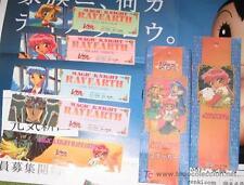 MAGIC KNIGHT RAYEARTH LUCHADORAS DE LEYENDA SEGA seal carddass pp stickers