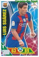 064 LUIS SUAREZ URUGUAY FC.BARCELONA CARD ADRENALYN LIGA 2017 PANINI