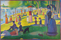 Georges Seurat Sunday Afternoon On Island Of La Grande Jatte Art Print Poster 36