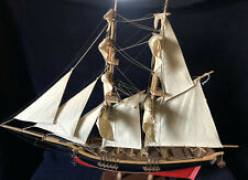 Toy Model Pond Yacht Baltimore Clipper 1812 H.LECLERC  Wood Model Ship18 1/2Tall
