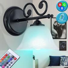 Lampe de bureau à écran de verre antique de salle de travail de mur de RGB LED