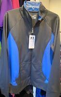 XXL  NWT $100 XL Under Armour Temperature-Control Zip Jacket 1317820 Green  S
