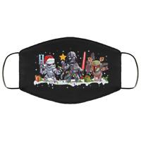 Boba Fett Darth Vader Stormtrooper Christmas Star Wars Face Mask Christmas