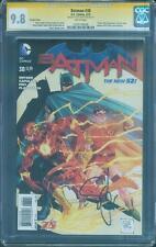 Batman 38 CGC SS 9.8 Scott Snyder FLASH 75th Top 1 Variant swipe cover