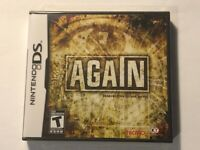 Again (Nintendo DS, 2010) New Factory Sealed (Tecmo)