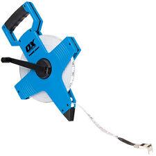 Ox commerce open reel tape measure 50m/165ft