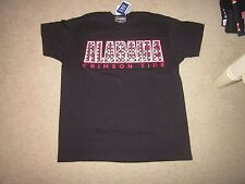 Alabama Crimson Tide black T- shirt SMALL- NWT
