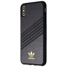 Adidas 3-Stripes Snap Case for Apple iPhone XS Max - Black/Black Stripes