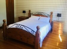 Queen Bed - Baltic Timber & Iron