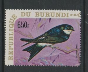 Burundi - 1970, 6f50, Haus Martin, Vogel Briefmarke - MNH - Sg 556