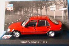 TALBOT ARIZONA 1985 BERLINE 4P IXO ALTAYA 1/43 ROUGE RED ROSSO ROT SALOON