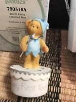 "Cherished Teddies ""Tooth Fairy Covered Box "" 790516A Box / Styrofoam New"
