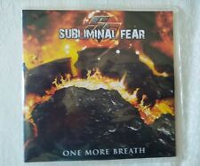SUBLIMINAL FEAR ONE MORE BREATH cd promo copia 12 (melodic death metal)