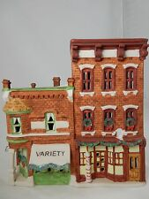 Department 56 Christmas in the City Variety Store & Barbershop w/Box (15)