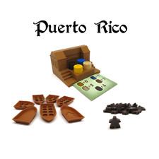 PUERTO RICO FULL UPGRADE PACK x109 pieces expansion deluxe Exclusive Board Game