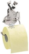 Hinz&Kunst Hund-Klopapierhalter,Toilettenpapierhalter,Klo-Rollenhalter,aus Stahl