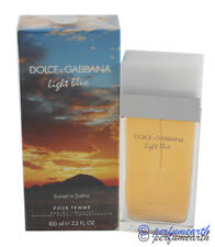 Light Blue Sunset In Salina  By D&G 3.3/3.4oz. Edt Spray For Women New In Box