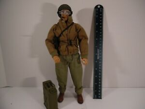 """21st Century Toys THE ULTIMATE SOLDIER 1/6 Figure 12"""" US TANK COMMANDER"""