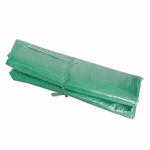 Tunnel Greenhouse REPLACEMENT Cover Protective Grow Shelter Roll-up Door Windows