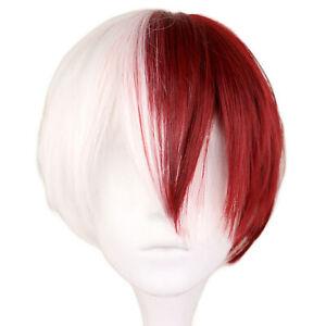 For MyHero Academia Boku no Hiro Akademia Shoto Todoroki Shouto Cosplay Hair Wig