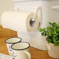 Fridge tissue magnetic holder fit any size paper towel white reusable easy use