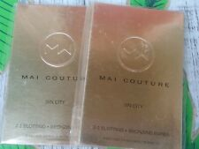2 Sealed Mai Couture Oil Blotting & Bronzing Paper_Sin City_@ 50ct Ea