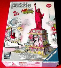 Pop Art Edition - 108 Teile 3D Puzzle Freiheitsstatue, Statue of Liberty NEU