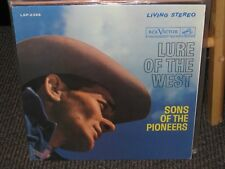 Sons of the Pioneers- Lure of the West- OOP 1961 RCA Victor Rec. LSP2356. LP EX