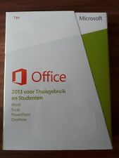 Microsoft Office Home and Student 2013 / Vollversion / PKC / 79G-03602 NEU
