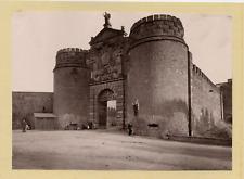 Hauser y Menet, Espagne, Toledo, Puerta de Visagila vintage print Photomécaniq