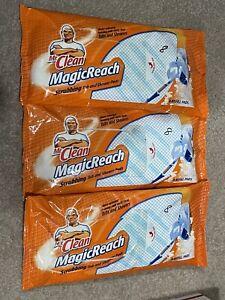 Mr Clean Magic Reach Scrubbing Tub And Shower 8 Refill Pads Magic Reach NEW OPEN