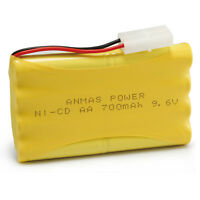 Lots 9.6V 700mAh AA Rechargeable Battery Ni-Cd Toy Car For security facilities