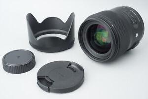Sigma 35mm f/1.4 f1.4 DG HSM Art Lens For Nikon F Mount