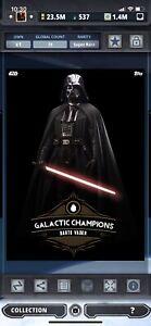 Topps Star Wars Digital Card Trader Galactic Champions 2 Vader Insert Award
